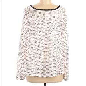 🌸SALE🌸 Loft Polka Dot Long Sleeve Blouse 330